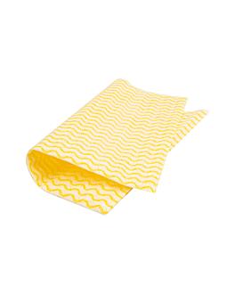 """50 u. lavettes """"perfokleen"""" 45 g/m2 36x44 cm jaune pale viscose (1 unitÉ)"""