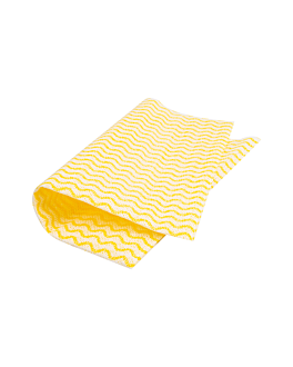 "50 u. bayetas ""perfokleen"" 50 g/m2 36x44 cm amarillo pÁlido viscosa (1 unid.)"