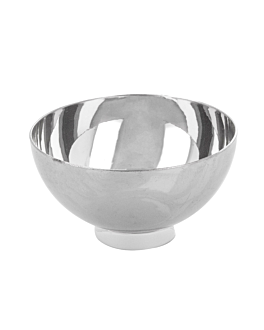 bowls for appetisers 72 ml Ø 6,7x3,5 cm silver ps (500 unit)