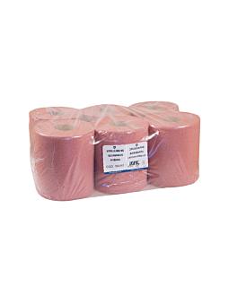 """asciugamani """"maxi barril"""" 2 veli - 360 fogli 'chamois' 21 g/m2 Ø 20x21,6 cm avana tissue (6 unitÀ)"""