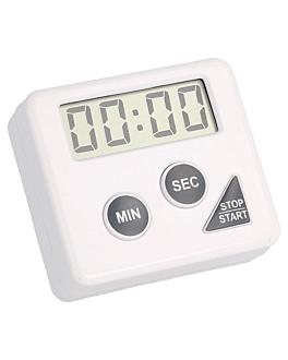 temporisateur Électrique 60' 6x5,5x2 cm blanc plastique (1 unitÉ)