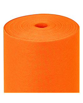 tablecloth pre-cut 120 cm 'spunbond' 60 gsm 1,20x50,4 m orange pp (1 unit)