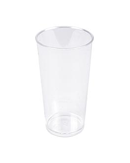 mini verres tube injectÉes 80 ml Ø 4,5x8 cm transparent ps (500 unitÉ)