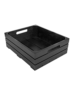 buffet box gn 1/2 32,5x26,5x10 cm black bamboo (1 unit)