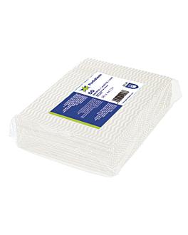 "50 u. wipes ""perfokleen"" 45 gsm 36x44 cm white viscose (1 unit)"