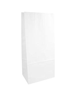 sacchetti sos senza maniglia 70 g/m2 15+10x32 cm bianco cellulosa (1000 unitÀ)