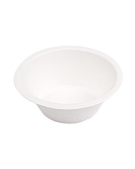 bowls 'bionic' 250 ml Ø11,4x4,4 cm white bagasse (1500 unit)