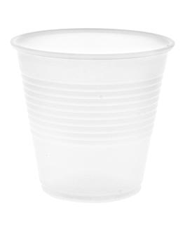 "bicchiere ""dart"" 150 ml Ø 6,4x7,2 cm translÚcido ps (2500 unitÀ)"