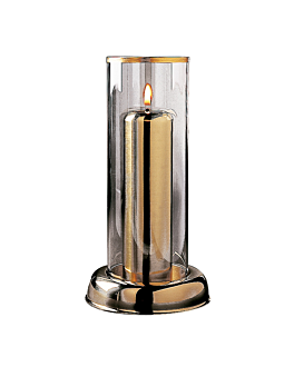 "lÁmpara ""torchier"" Ø 9,2x19,3 cm dorado cromo (1 unid.)"