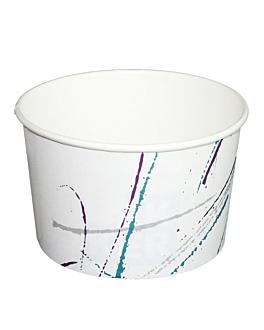 pots À glaces 'volare' 150 ml Ø 8,5x4,5 cm blanc carton (2000 unitÉ)