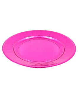 plates 310 g/m2 Ø23 cm purple cardboard (250 unit)