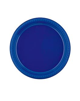 assiette de couleur Ø 26 cm bleu ps (500 unitÉ)