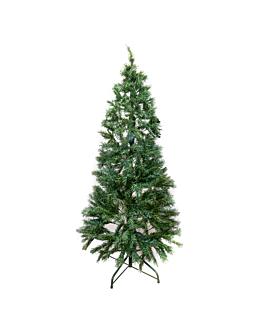 sapin 245 cm.h. vert fibre optique (1 unitÉ)