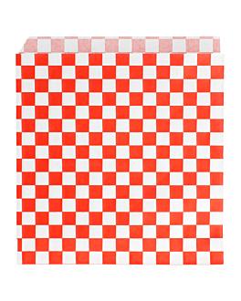 tÜten 2-seitig offen 'fitipaldi' 34 g/m2 13x14 cm rot pergament fettabweisend (1000 einheit)