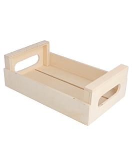 mini cassettina multiuso 20,5x12,5x6,5 cm naturale legno (20 unitÀ)