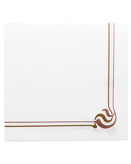ecolabel napkins 'double point - maxim' 18 gsm 40x40 cm white tissue (1200 unit)