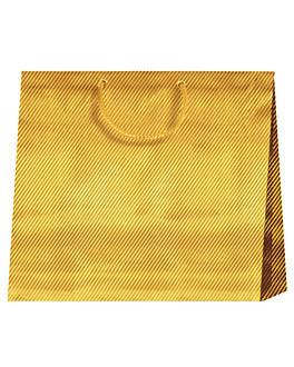 10 u. bolsas sos horizontal 'el dorado' 150 g/m2 38+10x29.2 cm dorado celulosa (1 unid.)