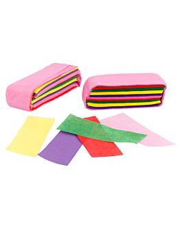 confetti rectangulaire 1 kg 5x2 cm assorti papier (1 unitÉ)