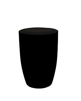 verre mise en bouche 150 ml Ø 5,6x8 cm noir ps (288 unitÉ)