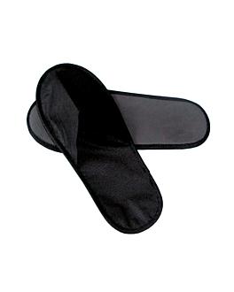zapatillas 28x11 cm negro spunbond (500 unid.)