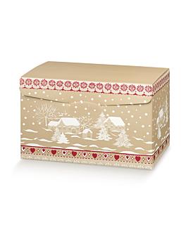 20 u. boÎtes 40x28x25 cm marron carton (1 unitÉ)