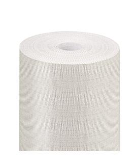 mantel 'like linen' 70 g/m2 1,20x25 m plateado spunlace (1 unid.)