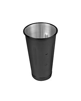 miscelatore per cocktails 900 ml Ø 10,2x17,1 cm nero acciaio inox (1 unitÀ)