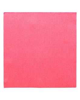 serviettes ecolabel 'double point' 18 g/m2 39x39 cm fuchsia ouate (1200 unitÉ)