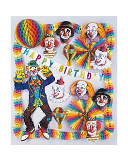 """decoration """"anniversaires enfants"""" 44x48 cm assorti carton (1 unitÉ)"""