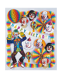"decorazione ""cumpleanni bambini"" 44x48 cm colori varie cartone (1 unitÀ)"