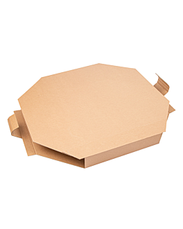 paella box 375 gsm 51x51x5,2 cm natural cardboard (100 unit)