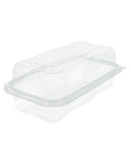 rÉcipients pÂtisseries + couvercle 750 ml 10,8x20,5x7,5 cm transparent rpet (600 unitÉ)