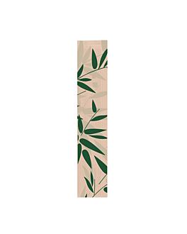 sacchetti panetteria 'feel green' 32 g/m2 9+3,5x35 cm naturale kraft (250 unitÀ)