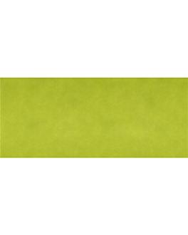"""""""tÊte À tÊte"""" folded 1/2 'spunbond' 60 gsm 40x120 cm lime pp (400 unit)"""