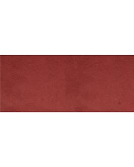 """tÊte À tÊte"" folded 1/2 'spunbond' 60 gsm 40x120 cm burgundy pp (400 unit)"