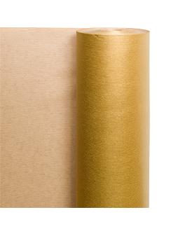carta regalo 100 m. 60 gr/m2 70 cm oro kraft a costine (1 unitÀ)