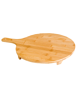pizza server Ø 35x2,5 cm natural bamboo (1 unit)