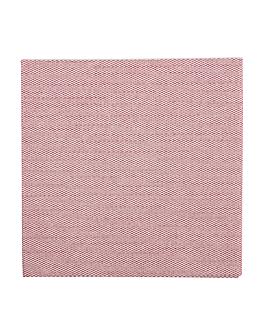 tovallons 'like linen' 70 g/m2 20x20 cm claret spunlace (3600 unitat)