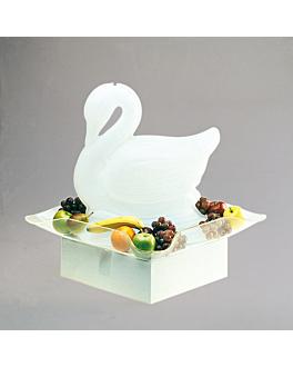 base luminosa sculture ghiaccio 48,5x41x14 bianco laton (1 unitÀ)