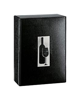 30 u. estuches 3 botellas 34x28x9 cm negro cartÓn (1 unid.)