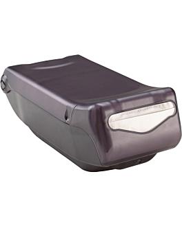 dispensador master servis para 550 servilletas 15x20,3x40 cm negro abs (1 unid.)