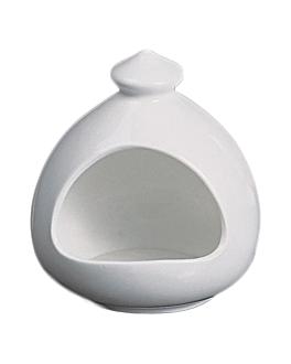 bell 13,5x15 cm white porcelain (16 unit)