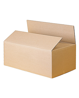 box corrugated cardboard - double cardboard 60x40x40 cm natural cardboard (16 unit)