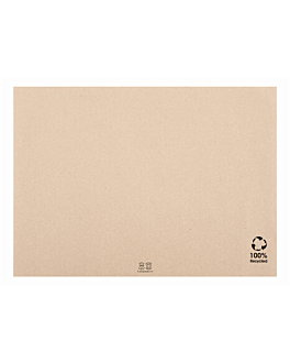 table mats - recycled 48 gsm 31x43 cm natural paper (2000 unit)