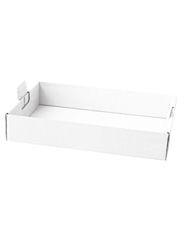 boxes to group 62x43,5x9,5 cm white cardboard (50 unit)