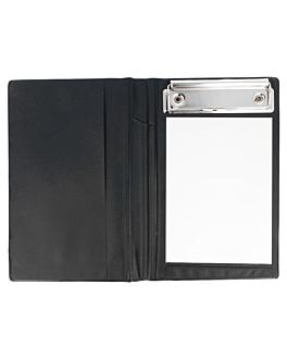 cubierta para blocs comanda 12x18 cm negro pvc (1 unid.)