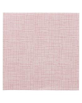 serviettes 'dry cotton' 55 g/m2 40x40 cm bordeaux airlaid (700 unitÉ)