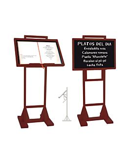 stand + blackboard 45x65x130 cm wood (1 unit)