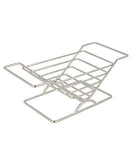 rack for sandwich 20,3x8,9x7,6 cm silver stainless steel (12 unit)