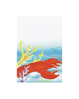 """portadas din-a4 """"pescado"""" 21x29,7 cm surtido papel (50 unid.)"""